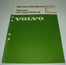 Werkstatthandbuch Volvo 340 Motor B172 / B 172 ab 1985
