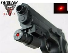 Red dot laser sight Smith Wesson sd9 or 40 or Any Colt Glock w rail under barrel