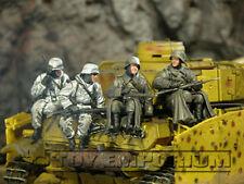 Custom Built 1:35 WWII German Winter Panzer Riders (4)