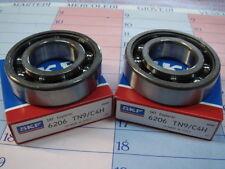 2 cuscinetti banco 6206 TN9 C4 Rotax 122 e 123 Aprilia RS RX CLASSIC MX 125