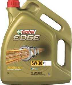 Huile Castrol Edge 5W30 C3 5L (bidon)