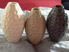 "THREE 5"" VASES"