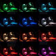 RGB 12 Strip Remote Controlled Multi Color Motorcycle Glow LED Lighting Kit