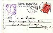 Genealogy Postcard - Family History - Frost - Surbiton - Surrey   A1399