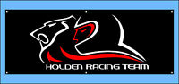 HSV Holden Racing Team Vinyl Banner Flag Poster Sign 1300x500mm FREE Delivery