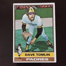 1976 Topps DAVE TOMLIN #398 San Diego Padres