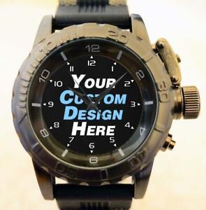 Custom Logo Photo Design Create Your Premium Sniper Commando Army Series Watch