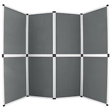 Room Divider Office Partition Wall Folding Privacy Screen Separator Exhibit