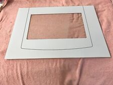 INDESIT OVEN OUTER DOOR GLASS WHITE MODELS FI21 FI31