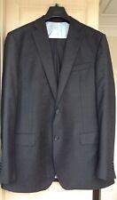 TM Lewin Super 100s Pure Merino Wool Grey Suit, Jacket 44L, Trousers 40R