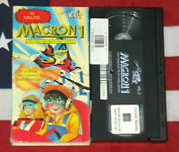 Macron 1 - Fighting for Truth and Justice (VHS, 1986) Anime Sci Fi Cartoon Video