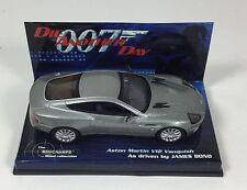 Aston Martin V12 Vanquish James Bond  • Minichamps • 1:43 Diecast • MINT BOXED
