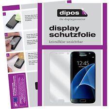 2x Samsung Galaxy S7 Schutzfolie Folie klar Galaxy S 7 Displayschutzfolie dipos