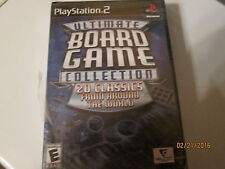 PS2 ULTIMATE BOARD GAME-20 CLASSICS read description before buying