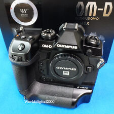 Olympus E-M1X Body 4Kc 121-Point Af Dual Card Slots Live Nd Filter 34 Languages