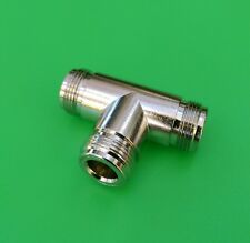 (5 PCS) N 1 Female to 2 Female T Type Connector Adapter - USA Seller