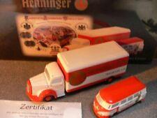Schuco Piccolo Set Henninger Bräu  VW T1+ MB 05811
