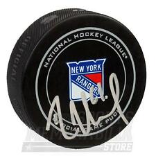 Rick Nash New York Rangers Signed Autographed Rangers Official Game Puck