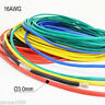 5 Meters 16AWG Flexible Soft Silicone Wire Tin Copper RC Electronic Cable 5Color
