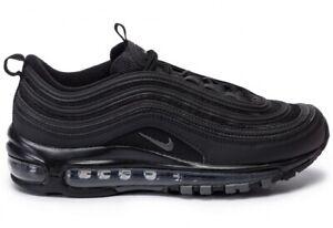 sneakers NIKE AIR MAX 97 total black uomo spedizione con CORRIERE 24/48 H