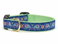 Dog Puppy Design Collar - Up Country - Made In USA - Paisley - Choose Size