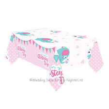 Amscan International 9901940 on Your Christening Day Pink Tablecover
