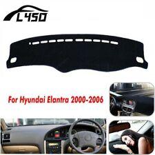 For Hyundai Elantra 2000-06 Black Dash Mat Dashboard Cover Dashmat RH Drive Pad
