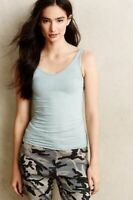 New Anthropologie By Eloise Seafoam Seamless V Neck Cami Reversible Tank Top $24