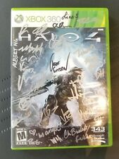 Halo 4 - Xbox 360 - Signed by Development Team - RARE