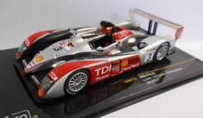 Modellini statici di auto da corsa in argento per Audi