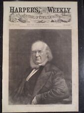 Horace Greeley Republican Candidate For President Harper's Weekly 1872