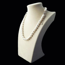 Charming 10mm white south sea shell pearl fashion necklace 18''AAA