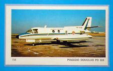 AEREI-Ed.Ediraf-Figurina/Sticker n.154-PIAGGIO DOUGLAS PD 808-ITALIA-Rec