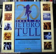 Jethro Tull: 20 Years Of - 2 LP Vinyl 33 rpm  Promo Italy press