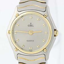 Ladies Ebel Wave Watch - Stainless Steel & 18k Yellow Gold Quartz 2 Yr Warranty