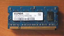 1GB Memory EBE11UE6AESA-8G-200p PC2-6400 CL6 8c 64x16 DDR2-800 2Rx16 1.8V SODIMM
