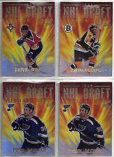 2000-01 Topps 4-card NHL Draft Hockey Insert Lot  Pavel Bure