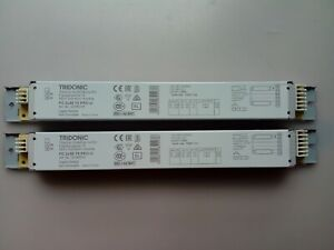2 x TRIDONIC Electronic Ballast for 2x58W T8 5ft Fluorescent Tubes 22185218 slim