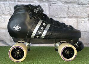 Original Bont LowCut Quadstar Roller Skates Genuine Leather Heatmouldable 41.5