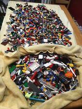 1 Pound PURE RANDOM 💯% LEGO LOT MIX Bulk AWESOME with TWO FREE MINIFIGURES