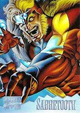 SABRETOOTH 1995 Marvel Masterpieces HOLOFLASH