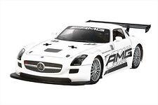 Tamiya 1/10 Rc Car Series N 00004000 o.566 Benz Sls Gt3 Amg Tt-02 Chassis On-Road 58566