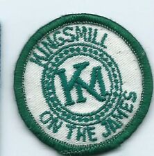 Kings Mill on the James Williamsburg VA employee patch2 in dia #181