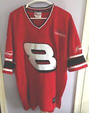 Chase Authentics #8 DALE JR XL Red Mesh Jersey NASCAR Budweiser Signature Logo