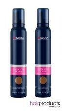 Indola Colour Mousse 200ml - Chocolate Brown x2