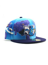 New Era NBA New Orleans Hornets 59fifty Fitted Hat Size 7 3/8 Marvel Heroes NWT