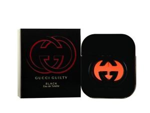 Gucci Guilty Black Eau de Toilette 50ml Spray For Her Ladies Women's EDT New.