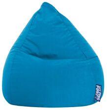 Sitzsack BeanBag EASY L blau MAGMA Heimtex Sitting Point 70x90cm 120l