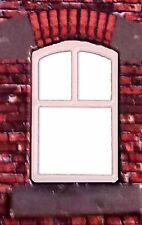 LC06b - Laser cut Curved Top Tall Windows OO scale pk of 6 Smart Models