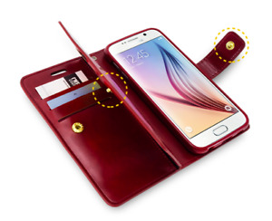 GOOSPERY® Mansoor Diary Wallet Case For iPhone and Samsung